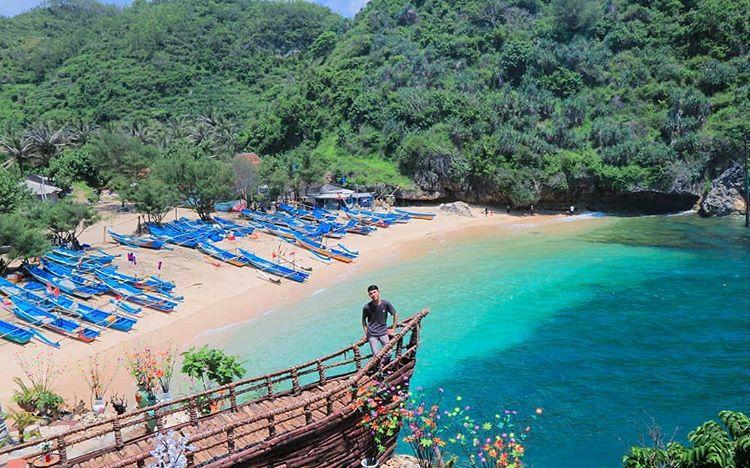 Pantai Gesing Yogyakarta, sumber ig jelajahijogja