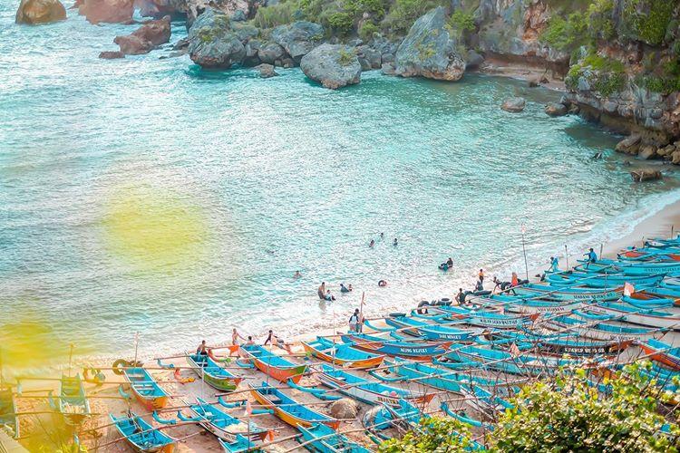 Pantai Ngrenehan Yang Indah di Jogja