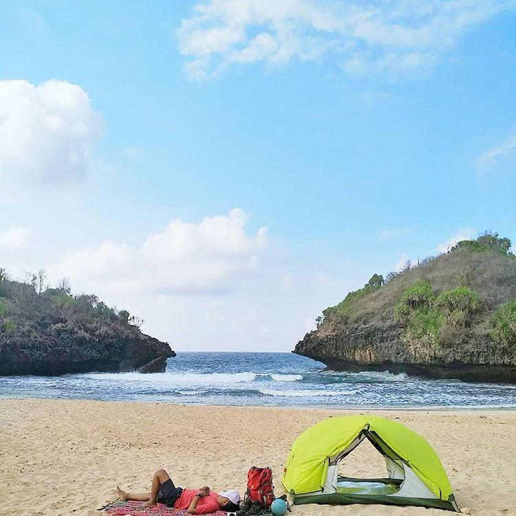 Pantai Sedahan, sumber ig infowisatagunungkidul